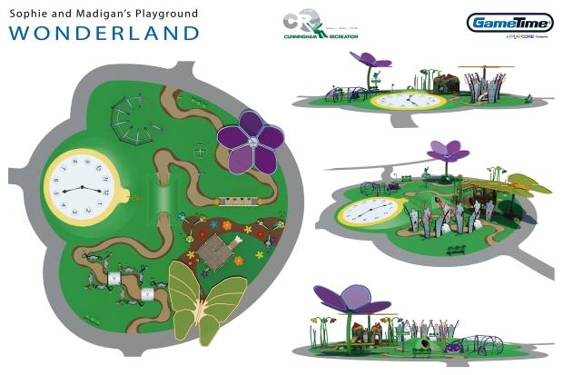 Wonderland Concept Board